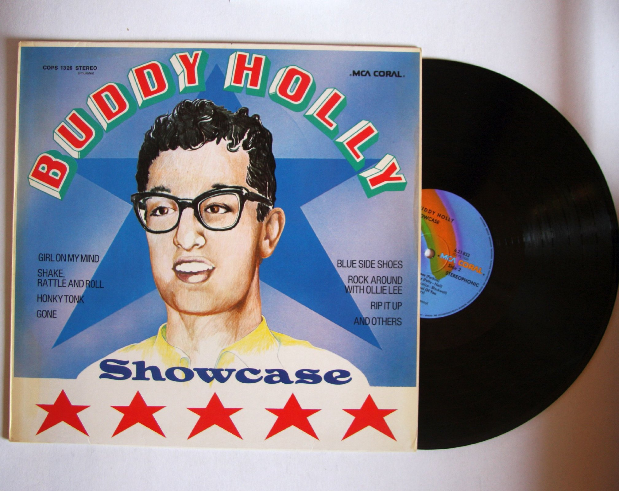 Buddy Holly - Showcase Album