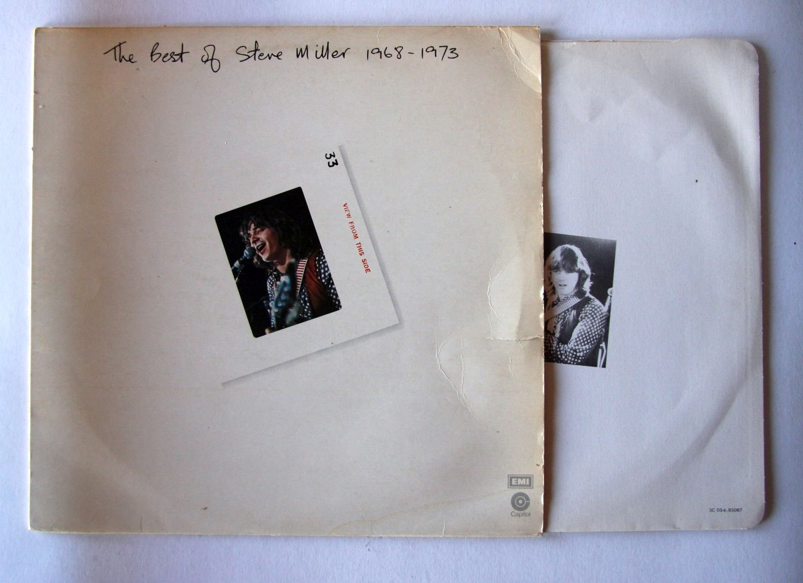 Steve Miller - The Best Of Steve Miller 1968-1973 Album