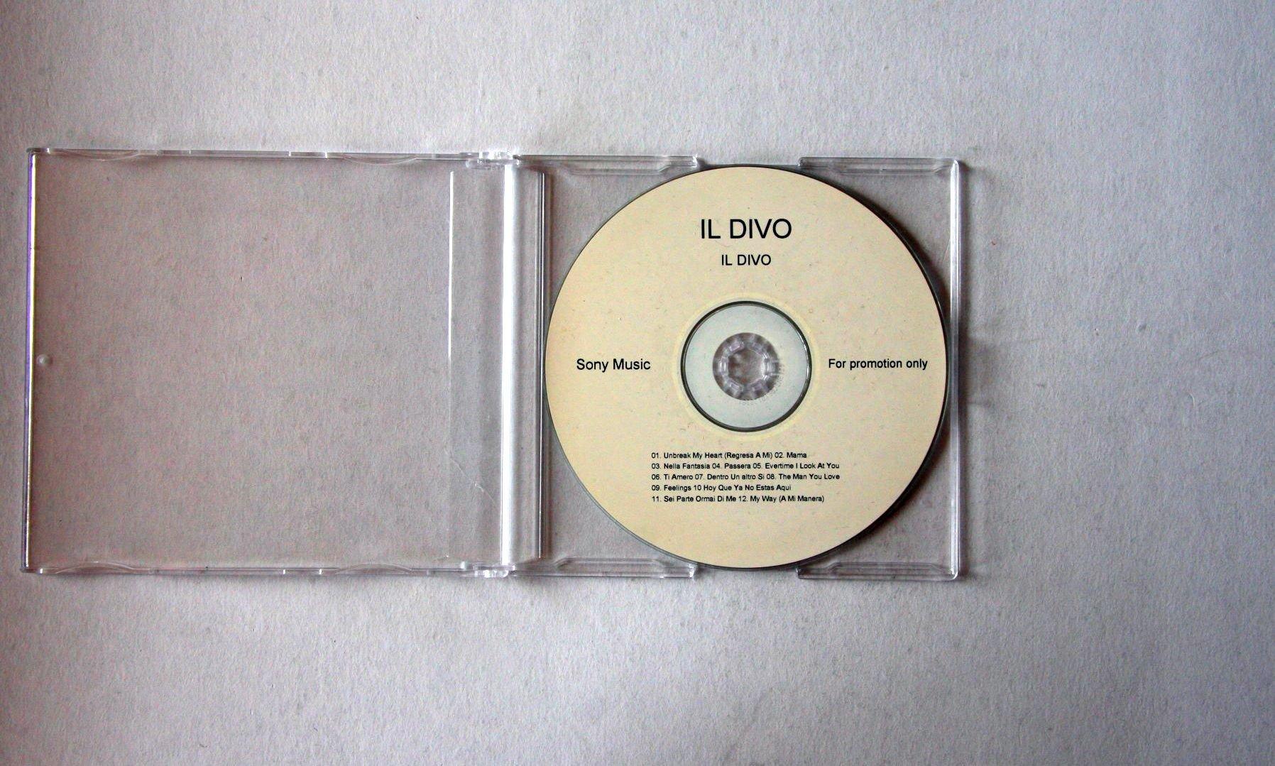 Il Divo Il Divo Records, LPs, Vinyl and CDs - MusicStack