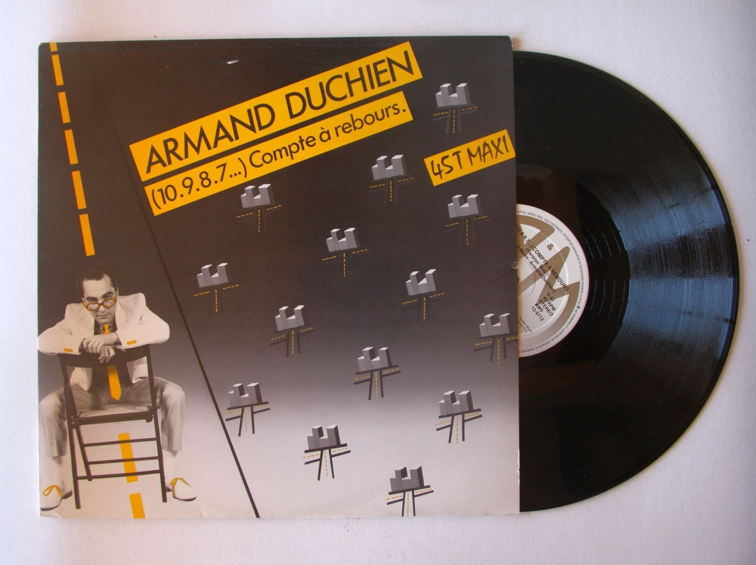 Armand Duchien 10 9 8 7 Countdown Compte Rebours