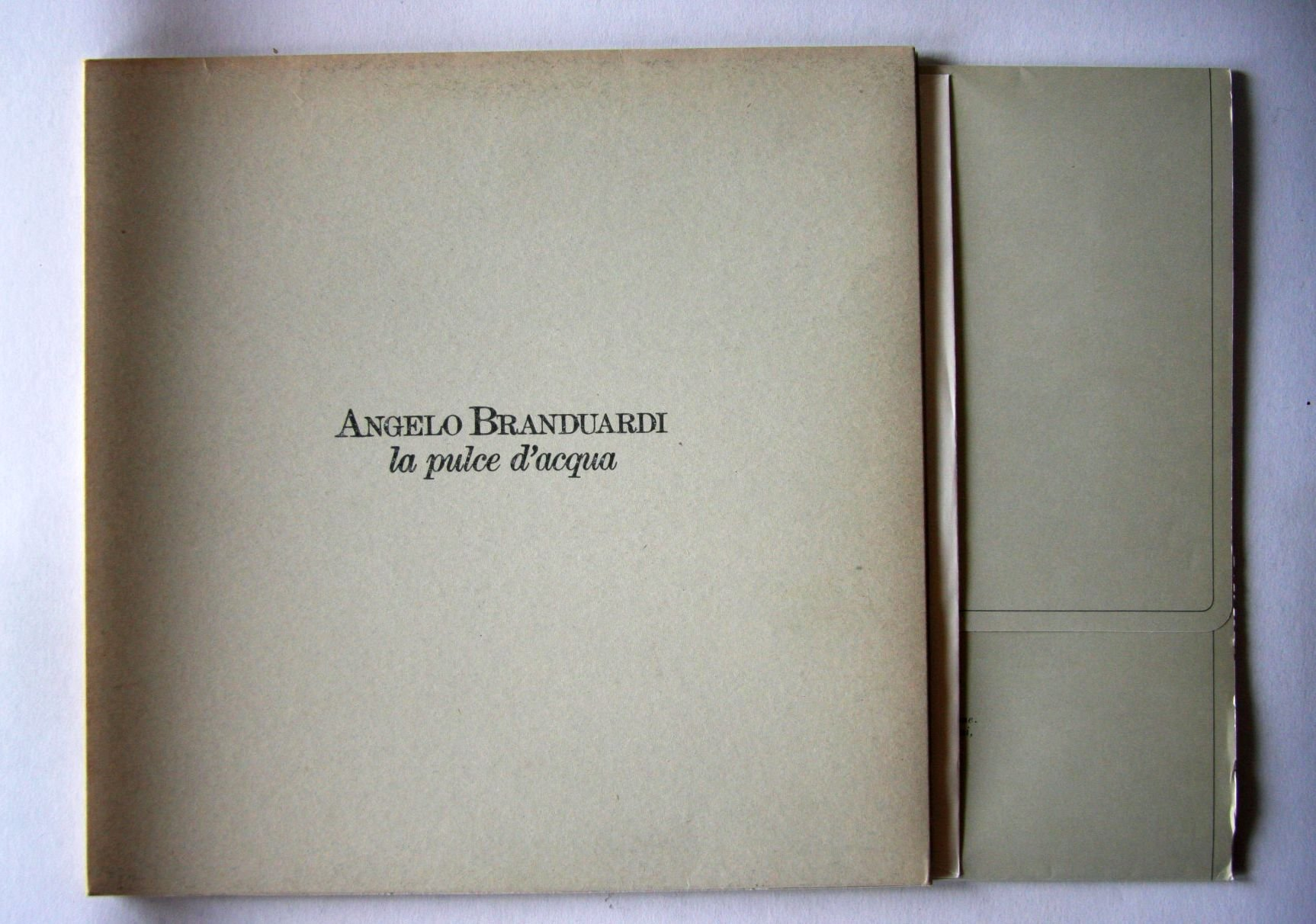 Angelo Branduardi - La Pulce D'acqua Vinyl