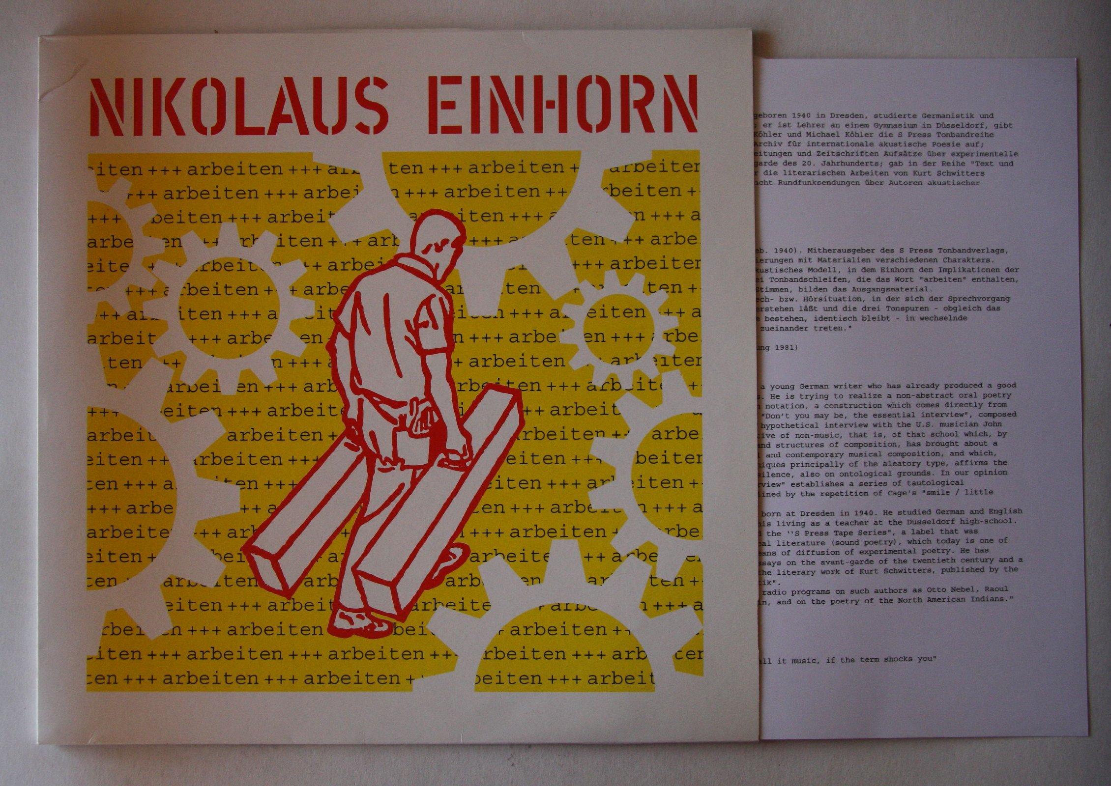 Einhorn Düsseldorf nikolaus einhorn records lps vinyl and cds musicstack