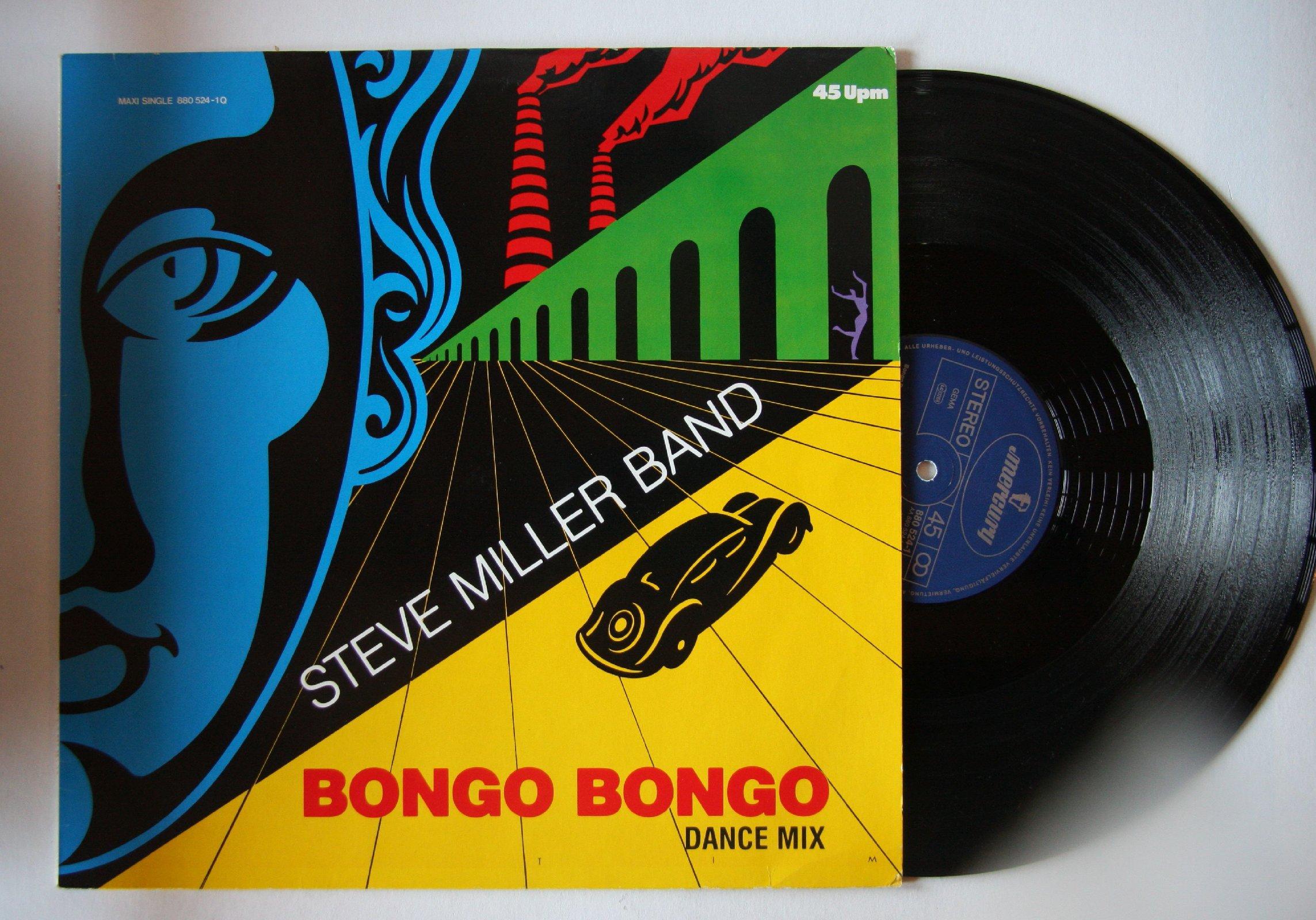 Steve Miller - Bongo Bongo CD