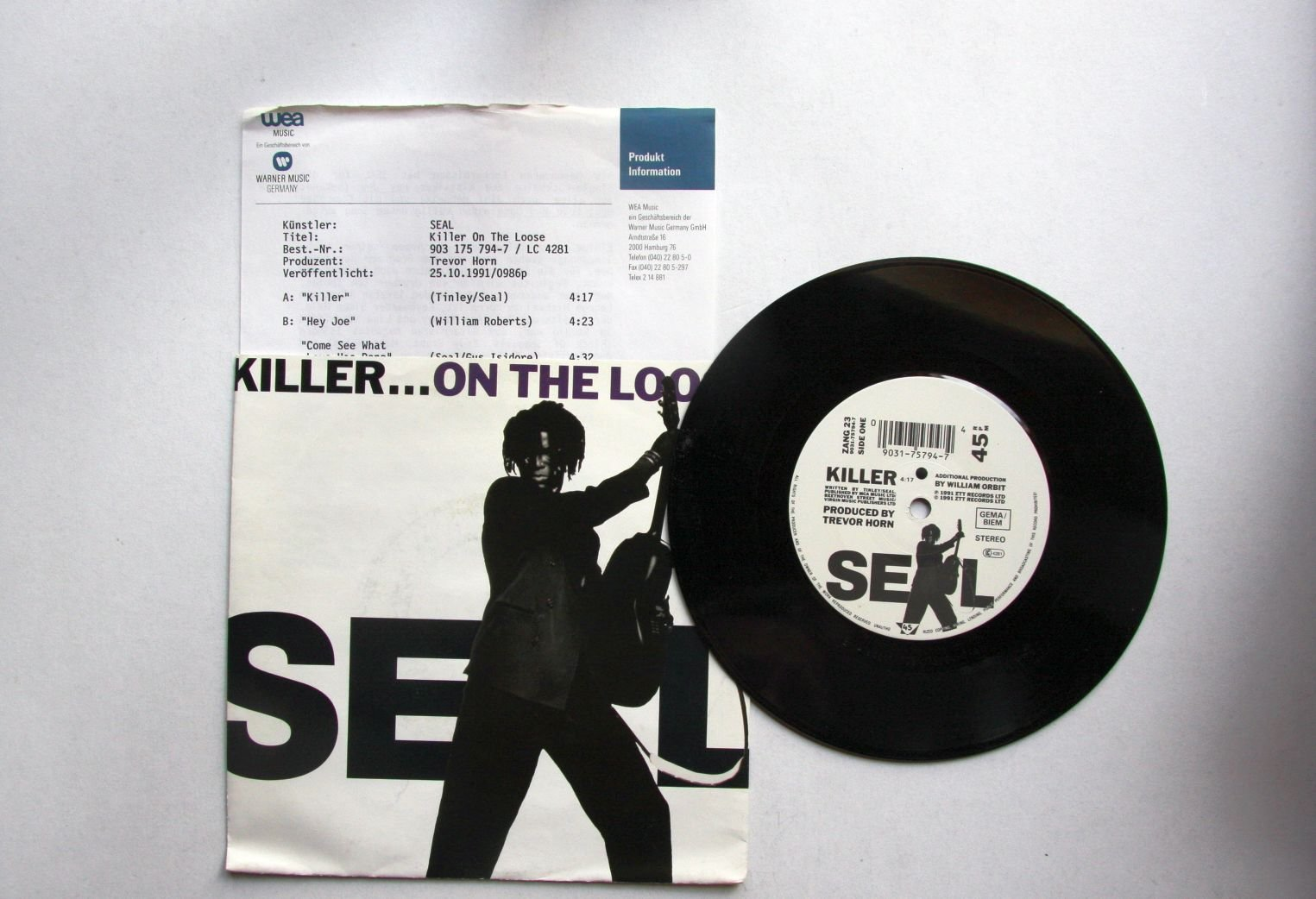 Seal - Killer...on The Loose CD