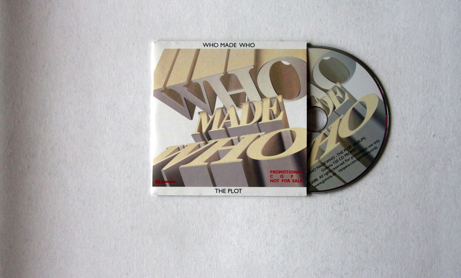 Who Made Who - The Plot Album