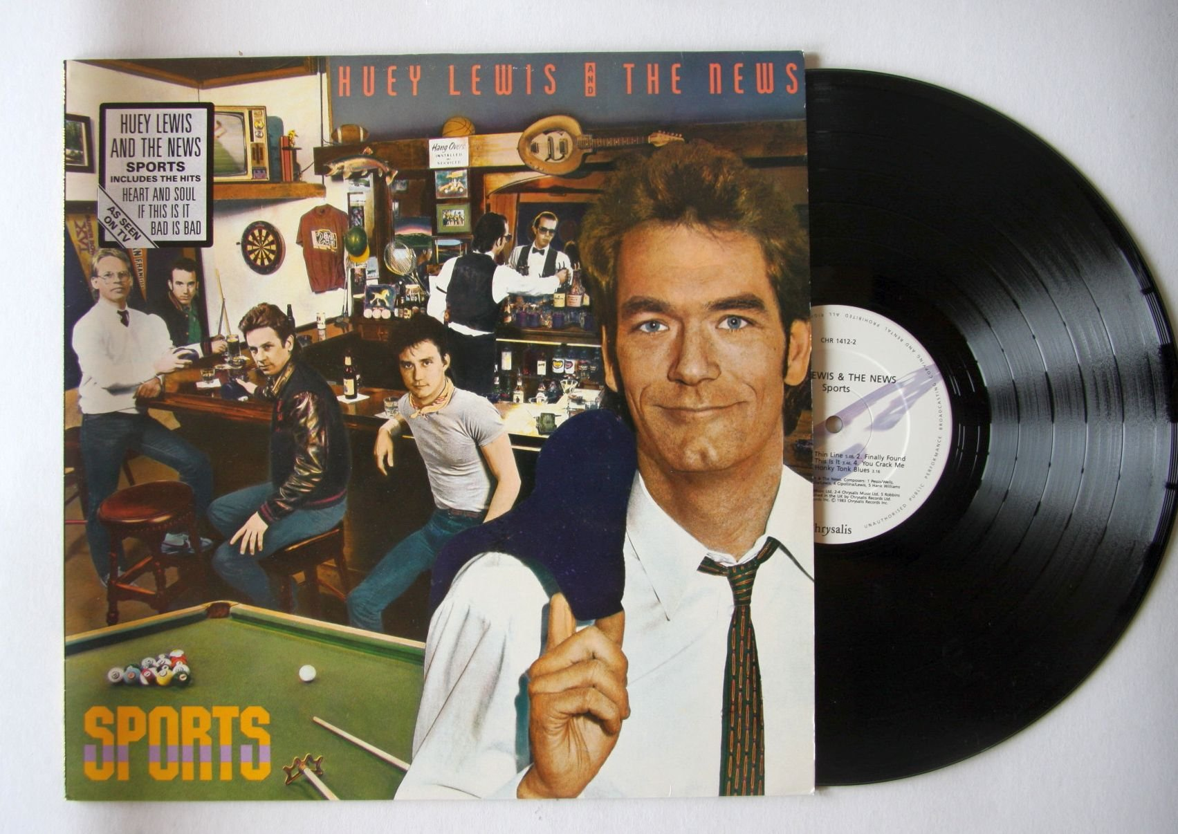 Huey lewis and the news this is it lyrics