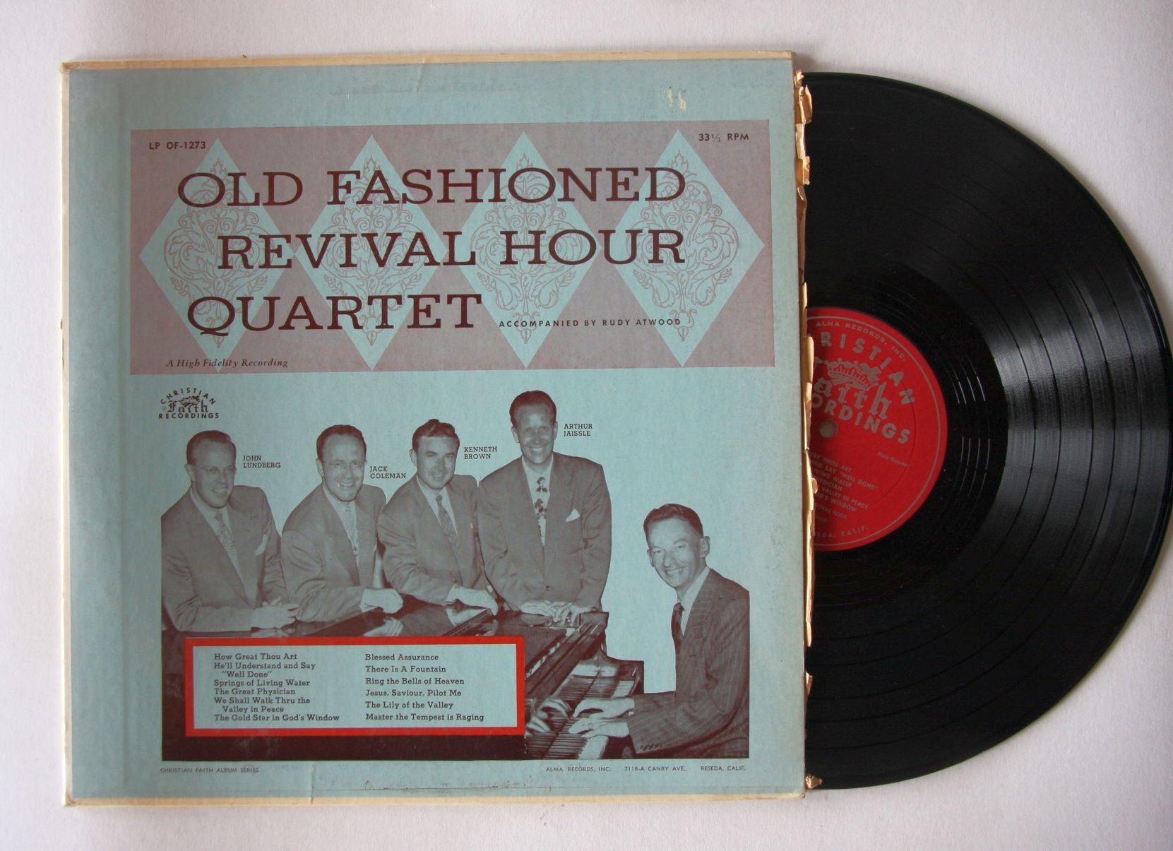 Old Fashioned Revival Hour Quartet