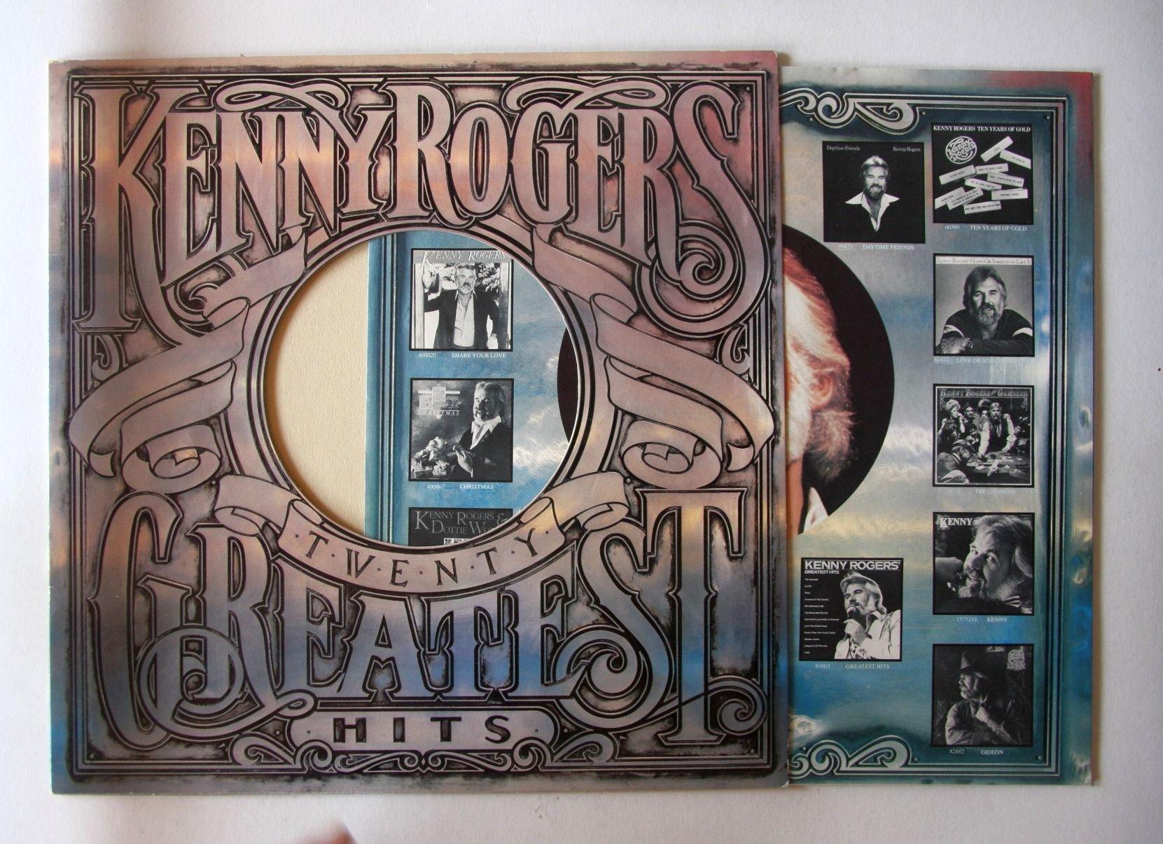 Kenny Rogers - Twenty Greatest Hits Album