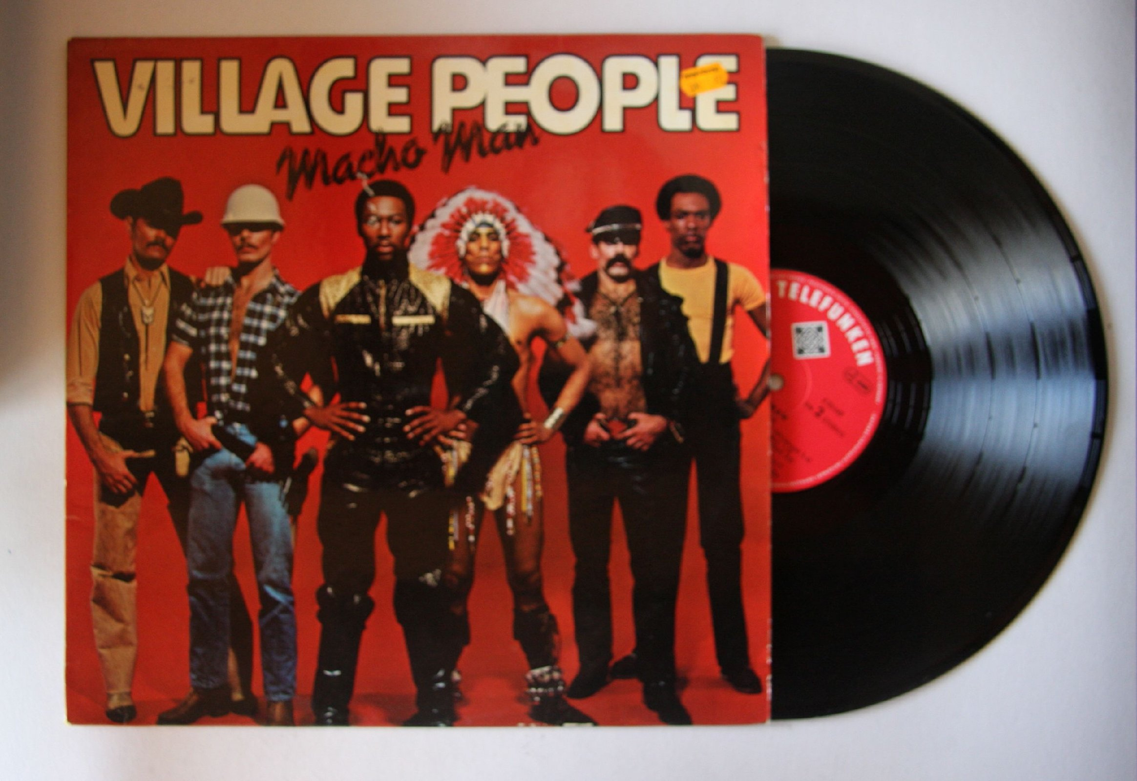 Village People Macho Man Records Lps Vinyl And Cds