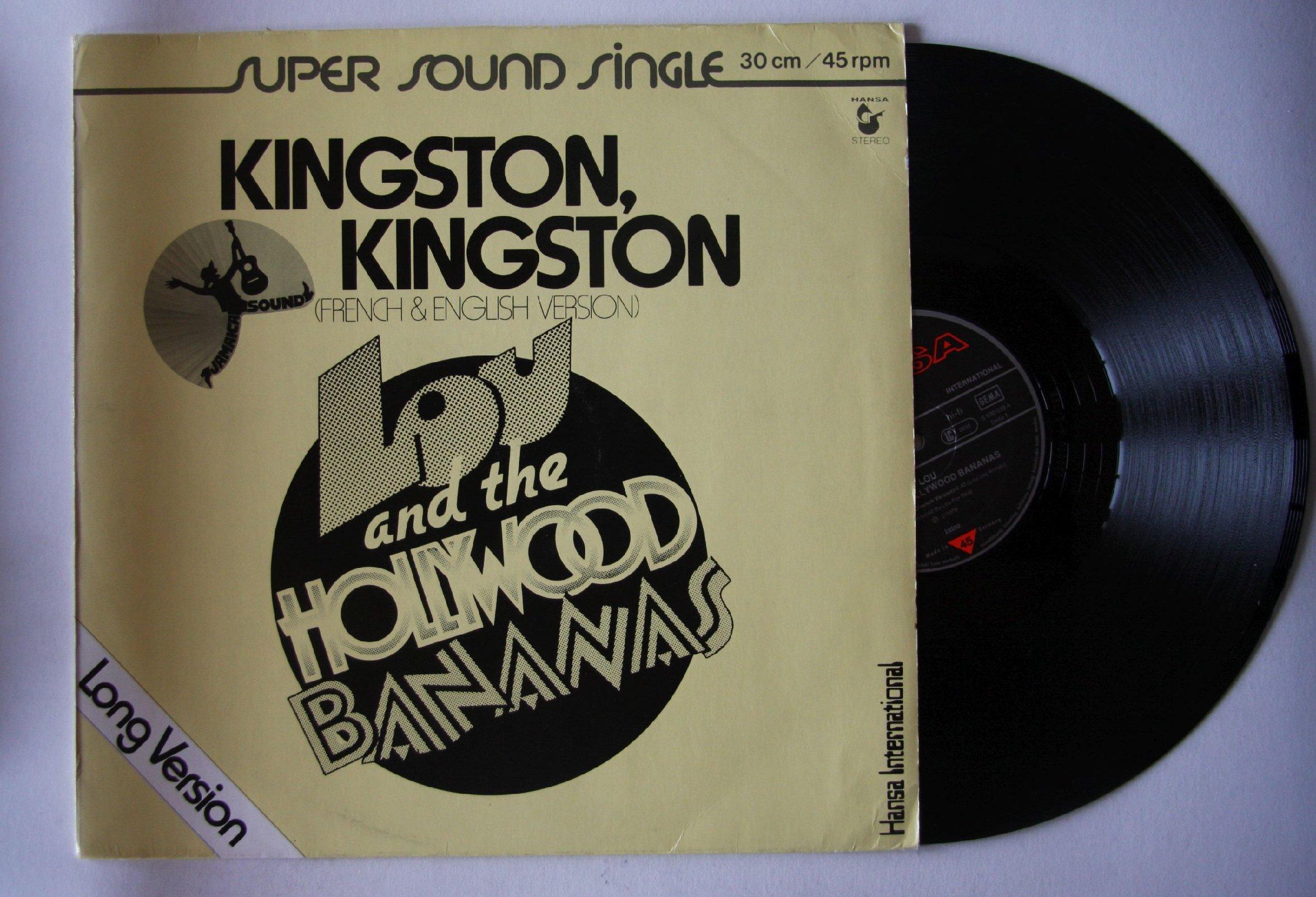 Lou The Hollywood Bananas Two Man Sound Kingston Kingston Que Tal America