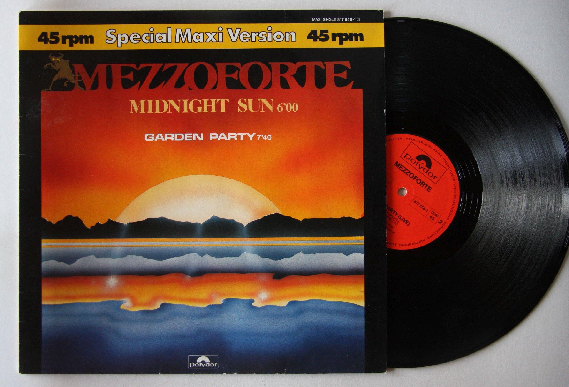 Mezzoforte - Midnight Sun / Garden Party
