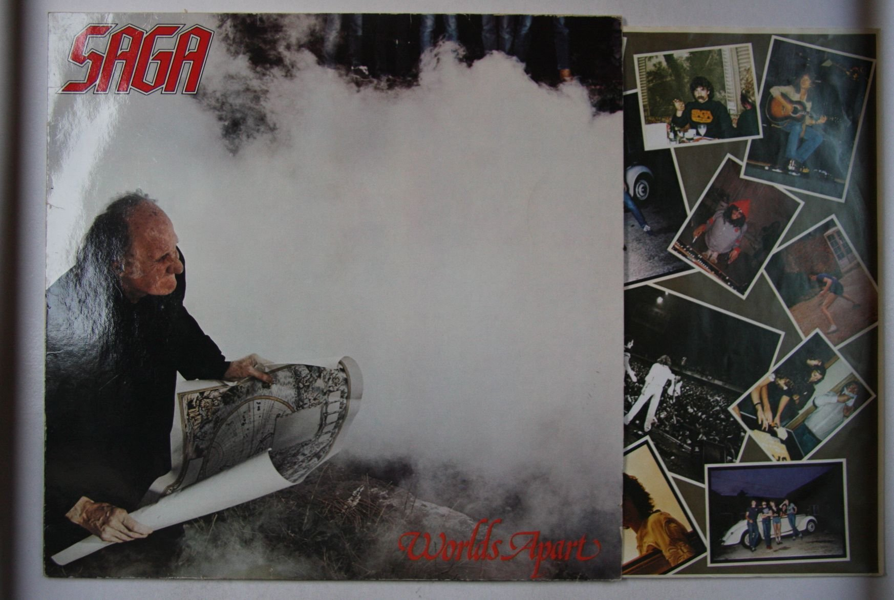 Saga Worlds Apart Records Lps Vinyl And Cds Musicstack