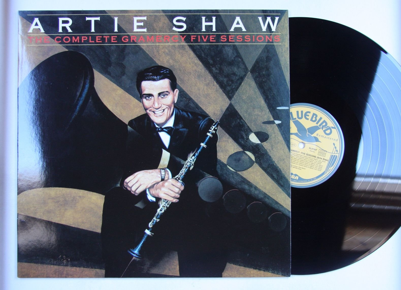 Artie Shaw The Complete Artie Shaw Records Lps Vinyl And