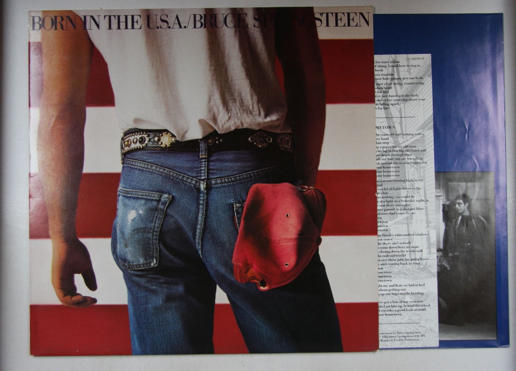 Bruce Springsteen - Born In The U.s.a. Record
