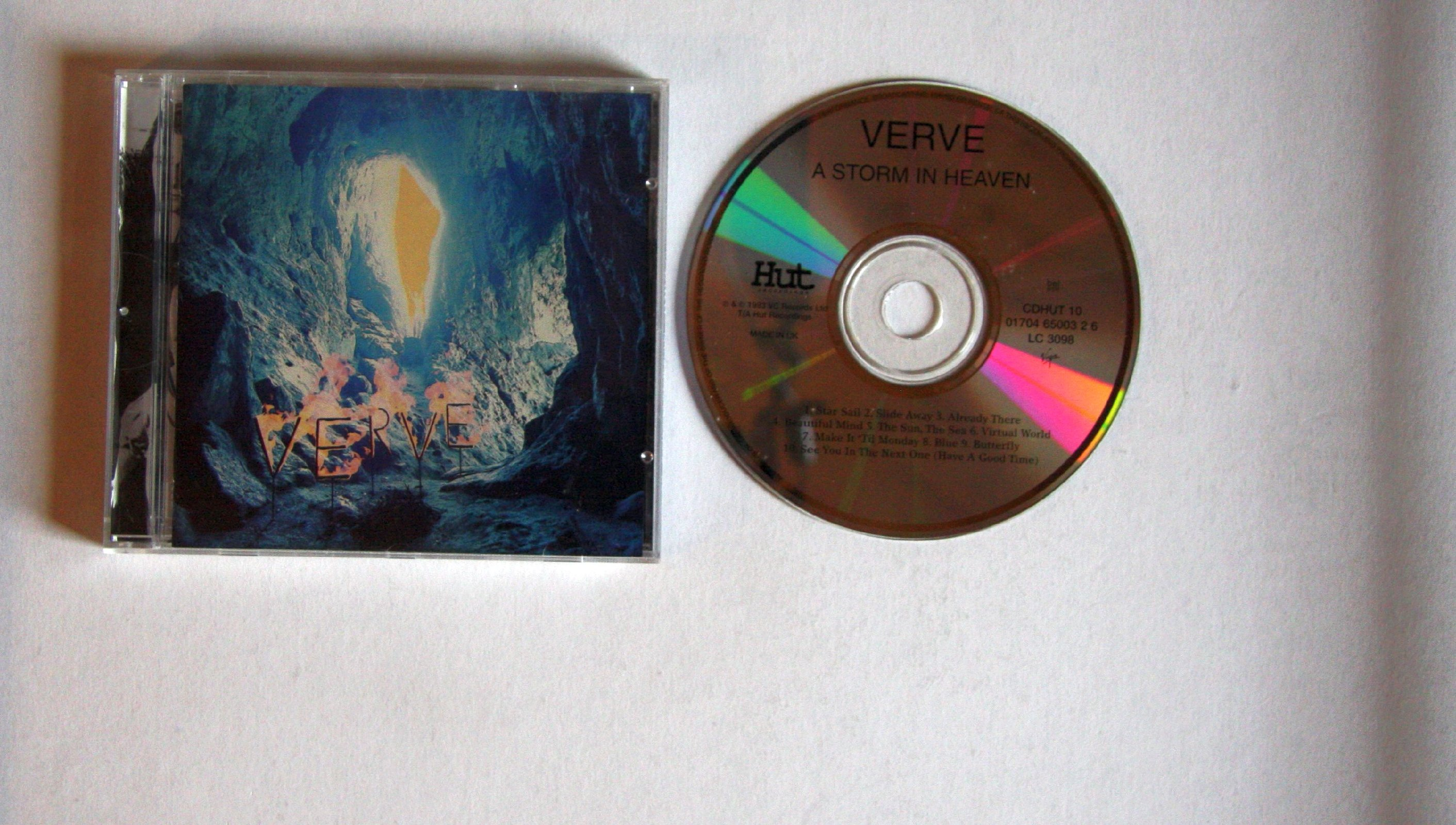 Verve A Storm In Heaven Records Lps Vinyl And Cds