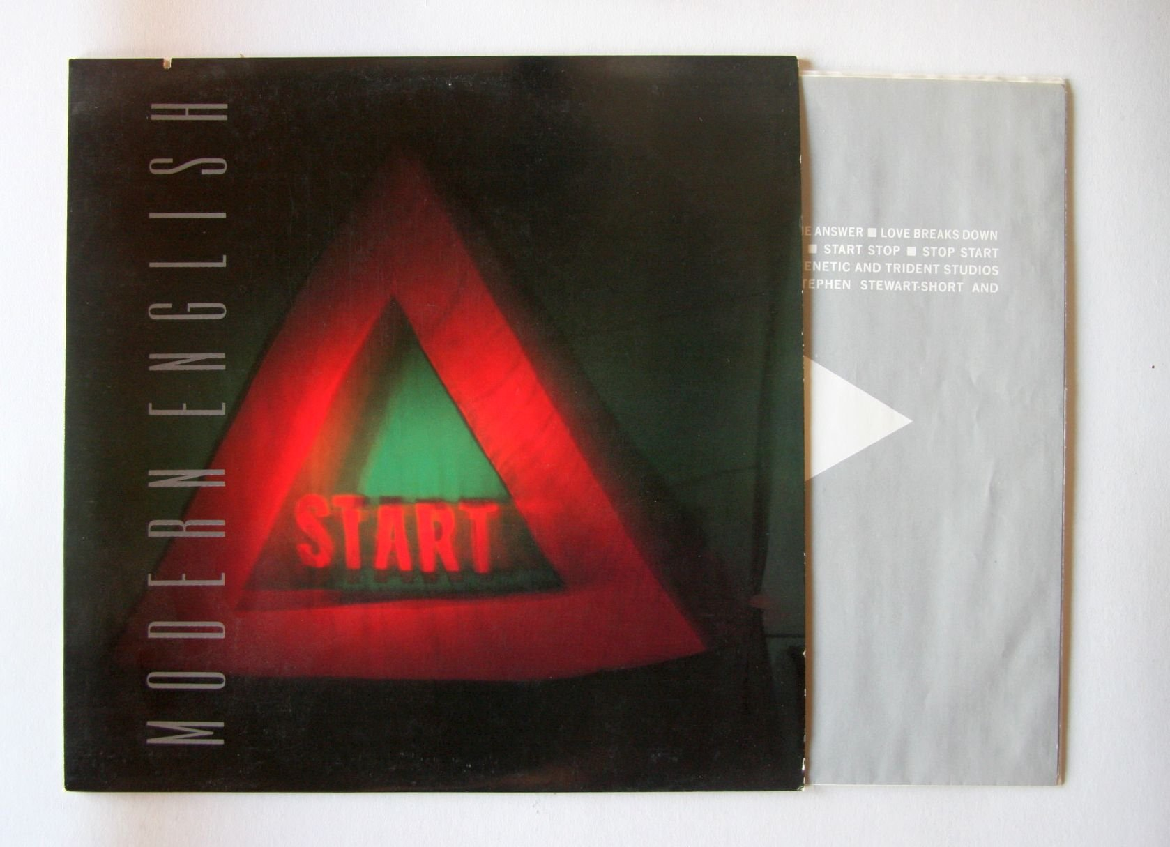 Modern English Stop Start Records, LPs, Vinyl And CDs