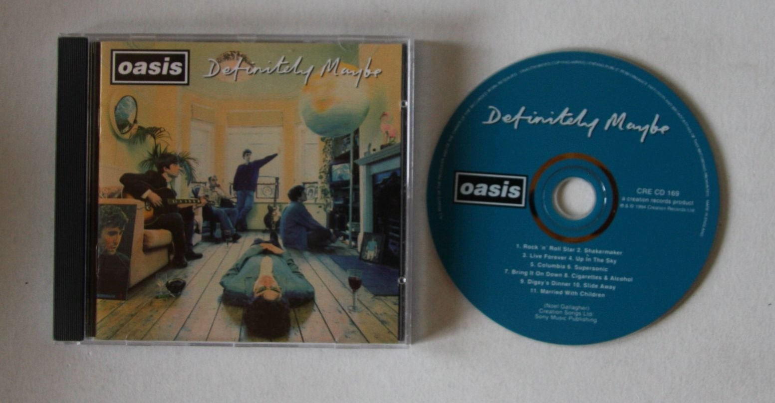 Oasis Definitely Maybe Records Lps Vinyl And Cds