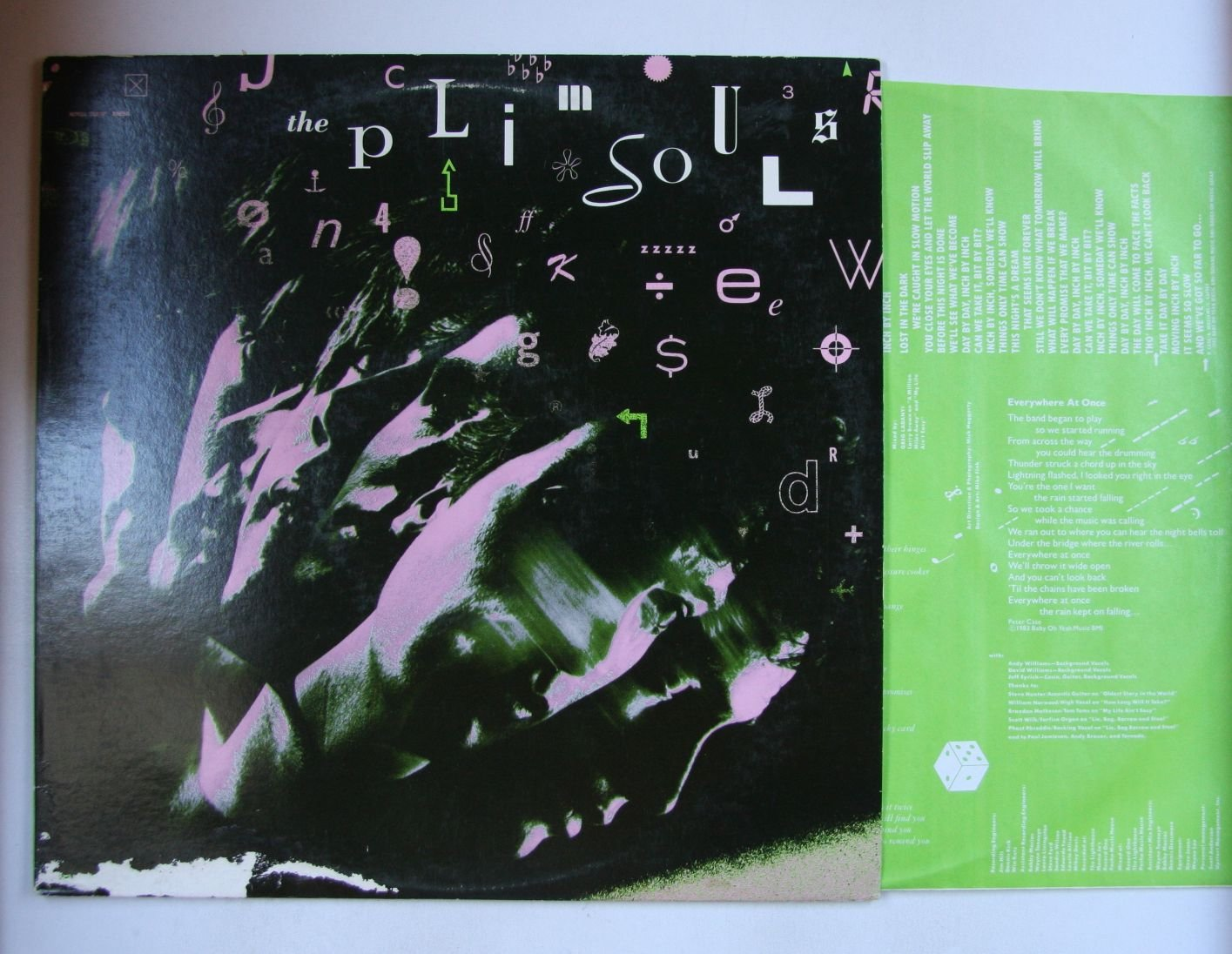 Plimsouls Everywhere At Once Us Lp 1983 Powerpop Ebay