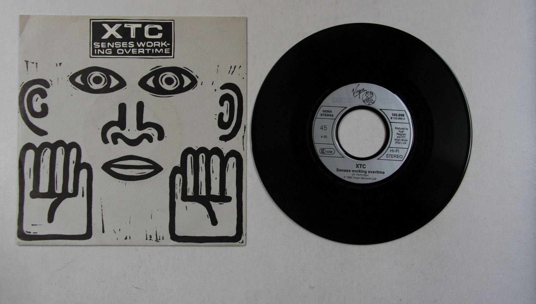 Xtc Senses Working Overtime Records Lps Vinyl And Cds