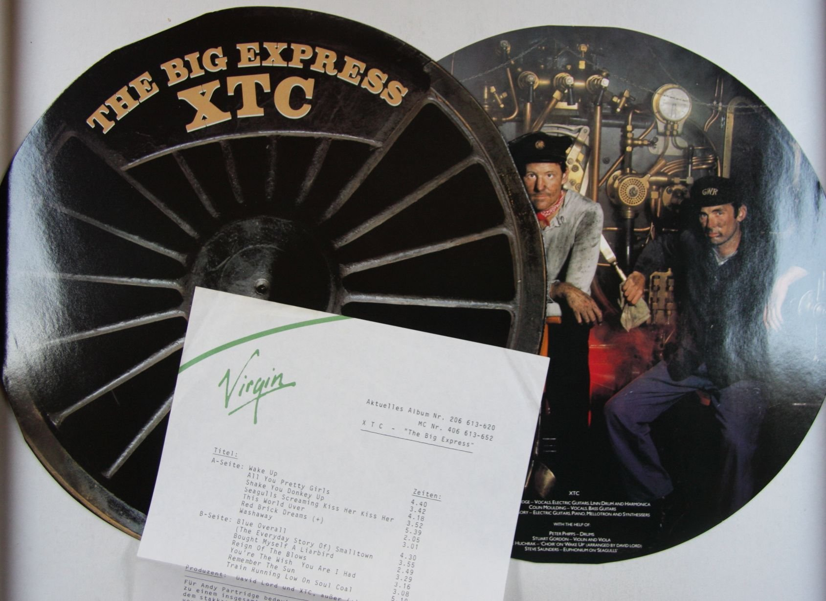 Xtc The Big Express Records, LPs, Vinyl and CDs - MusicStack