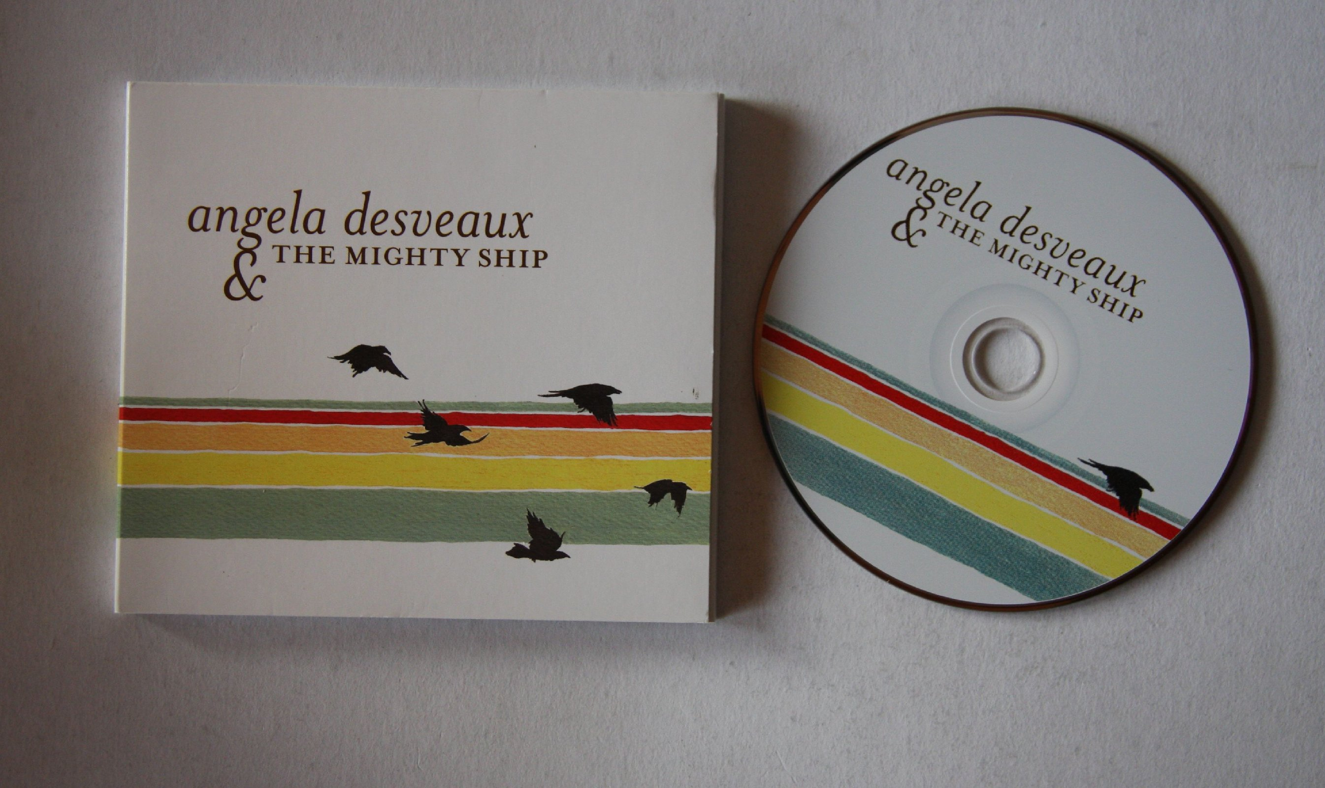 Angela Desveaux & The Mighty Ship - Angela Desveaux & The Mighty Ship