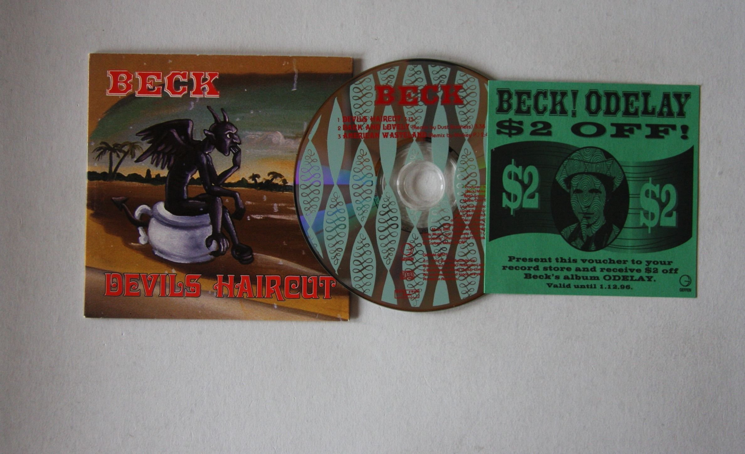 Beck Devils Haircut Records Lps Vinyl And Cds Musicstack