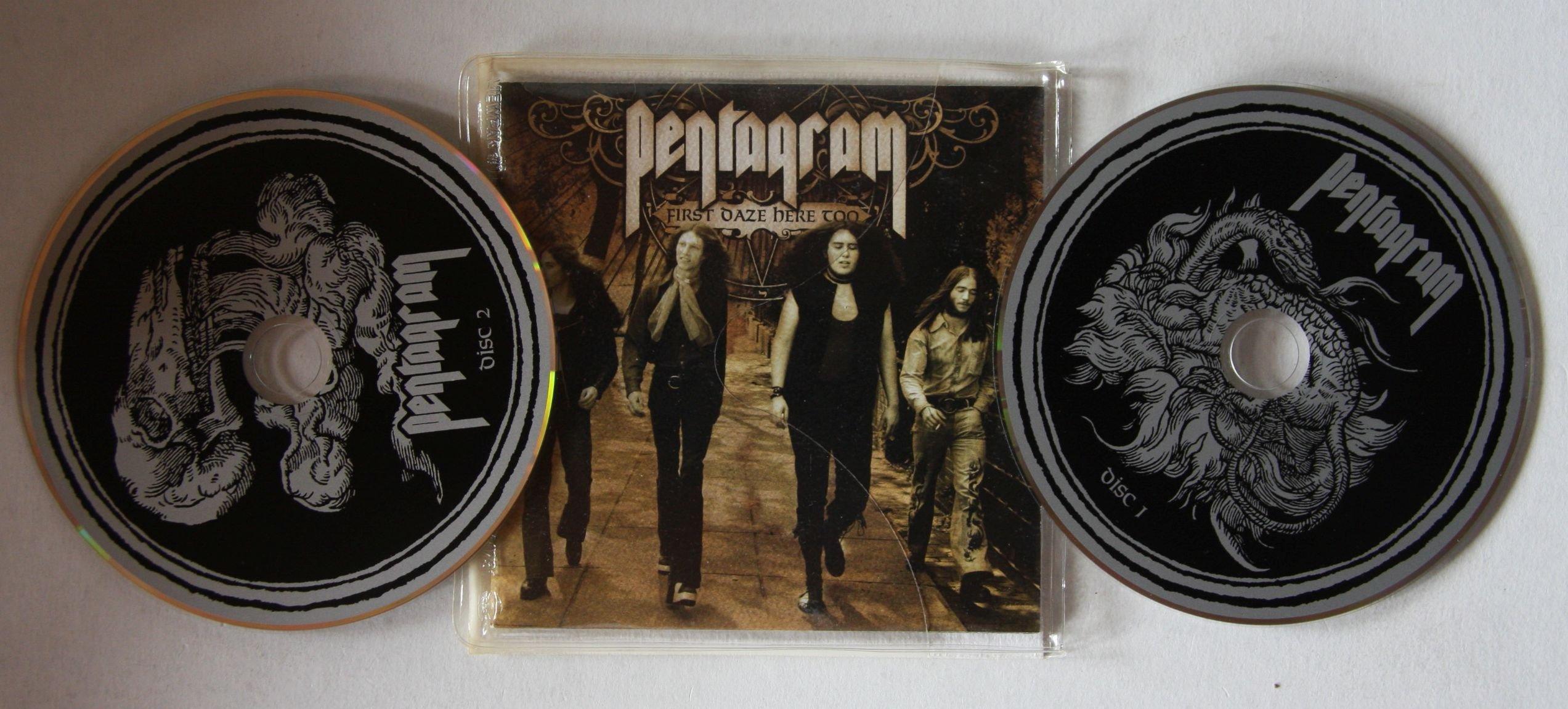 Pentagram First Daze Here Records Lps Vinyl And Cds