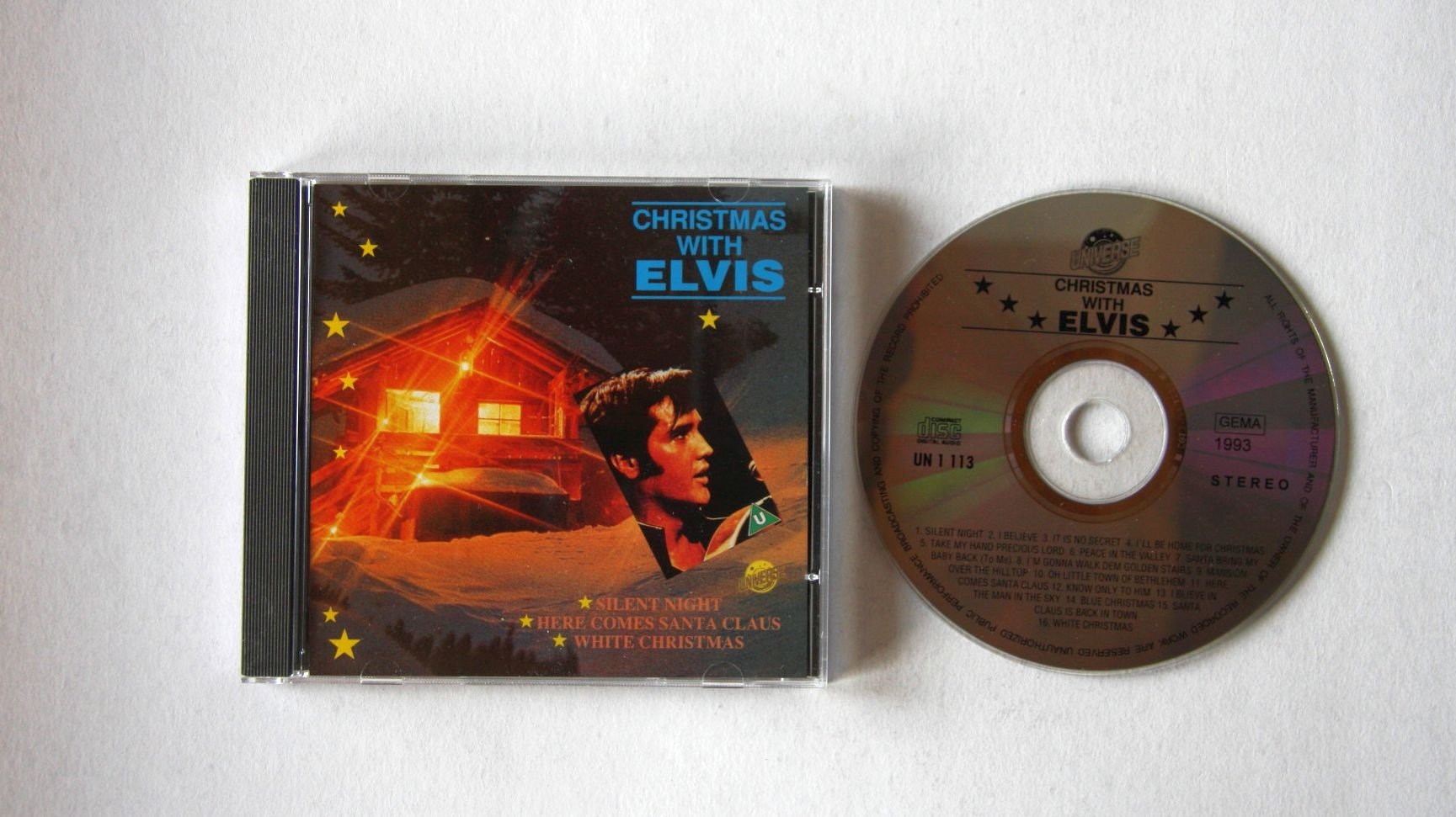 Elvis Presley - Christmas With Elvis White Christmas