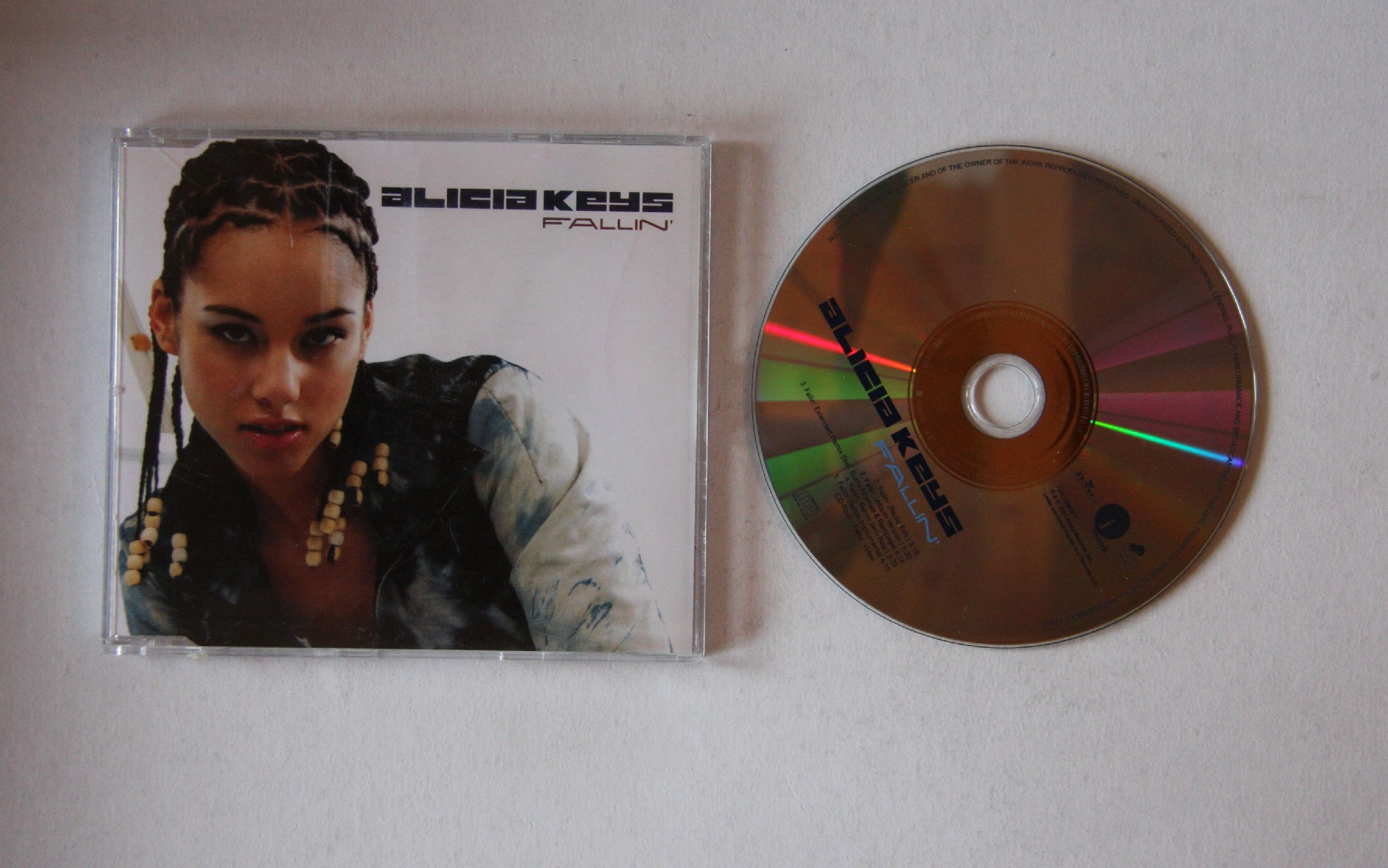 Alicia Keys - Fallin' CD