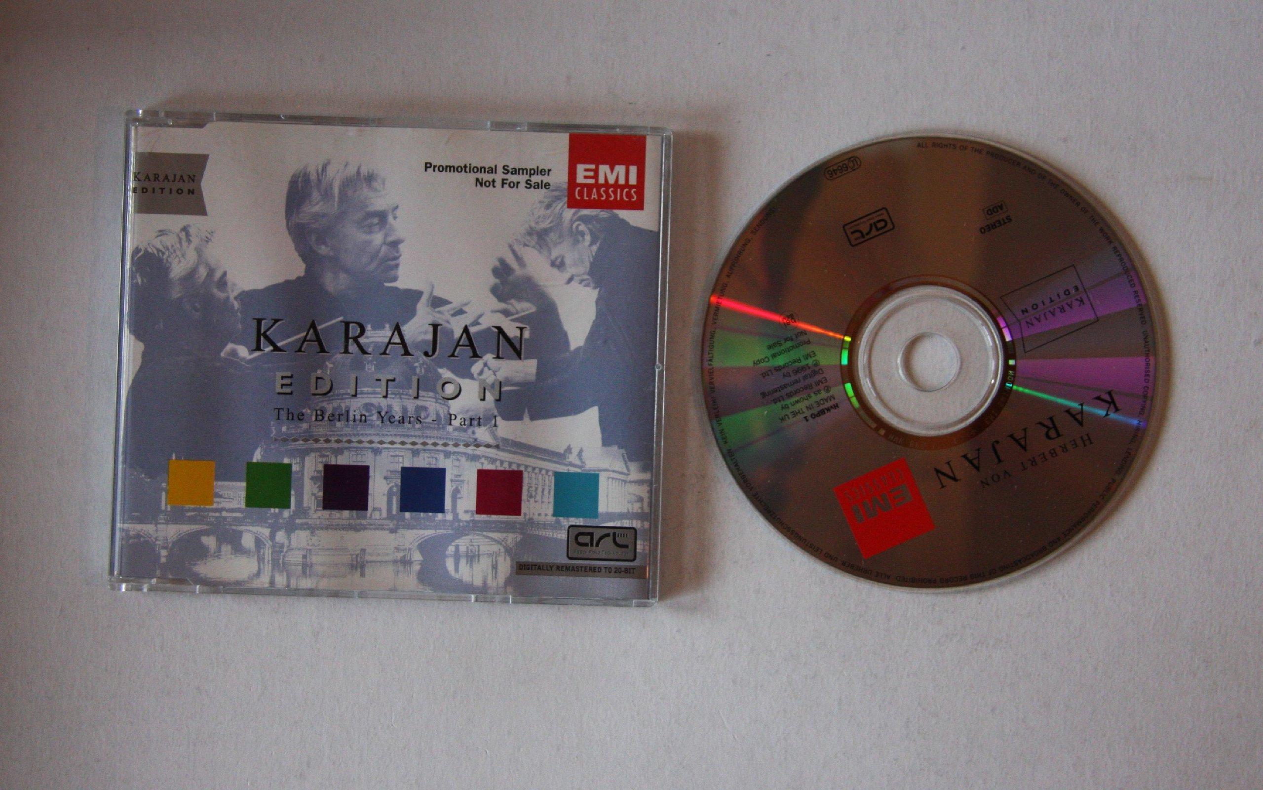 Herbert von Karajan - Karajan Edition The Berlin Years - Part 1 (dig. Rem.)