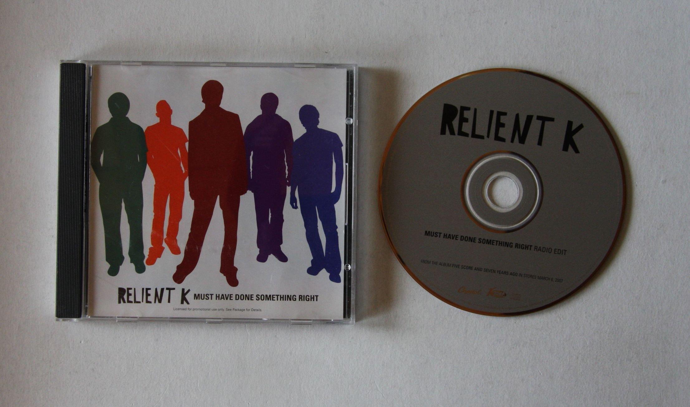 Relient K Must Have Done Something Right Records, LPs, Vinyl and CDs ...