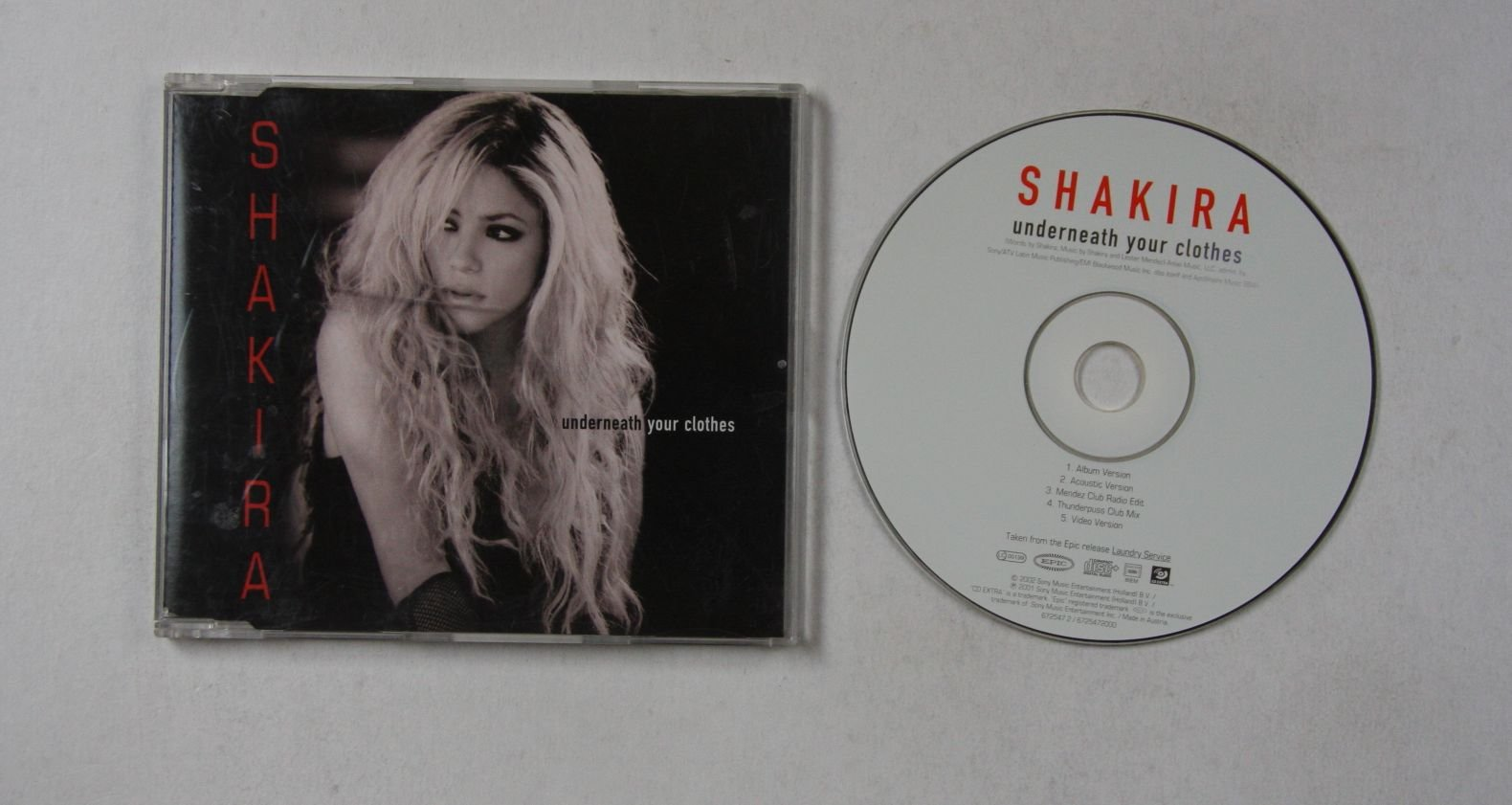 Shakira Underneath Your Clothes Records Lps Vinyl And