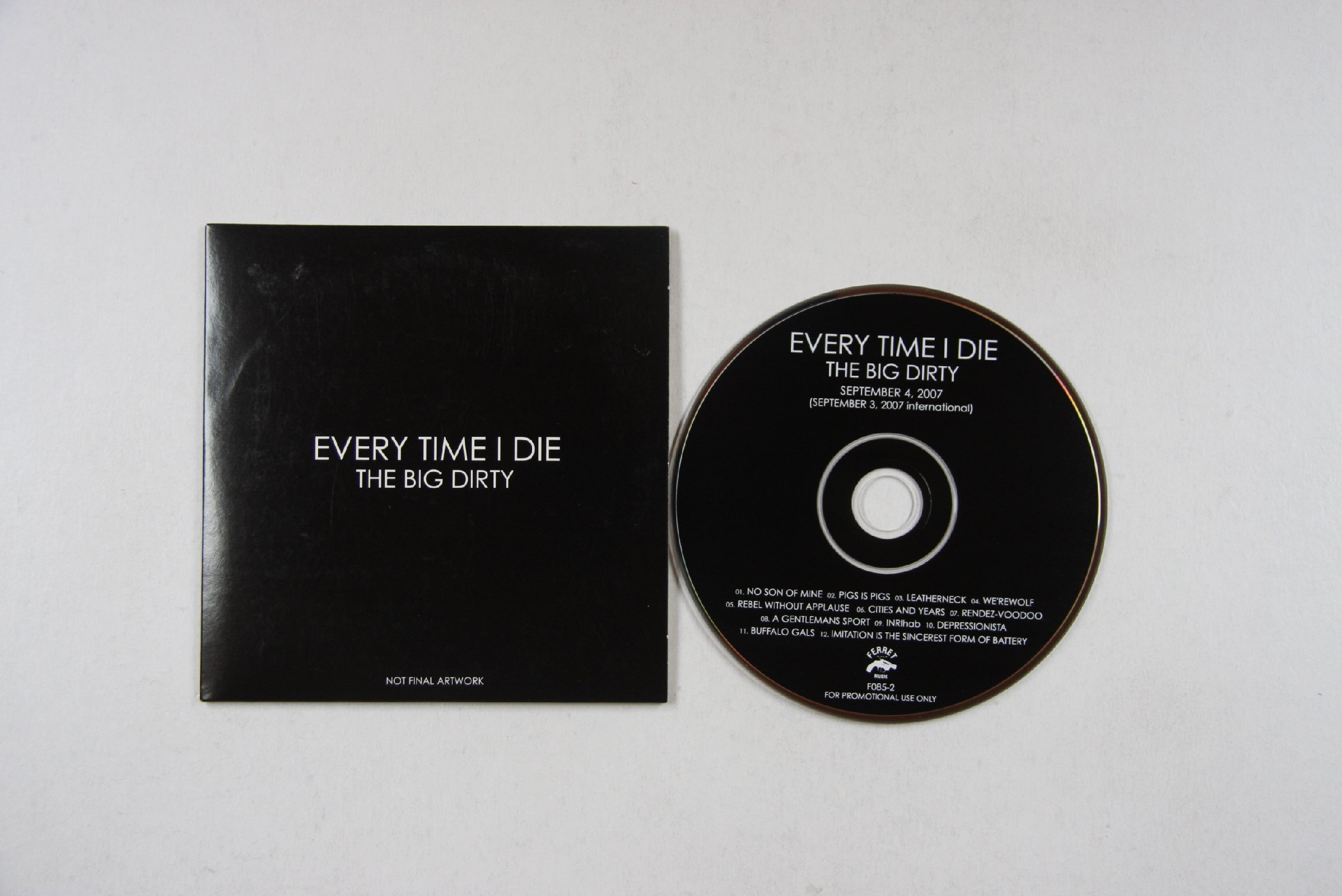 Every Time I Die Big Dirty Records Lps Vinyl And Cds