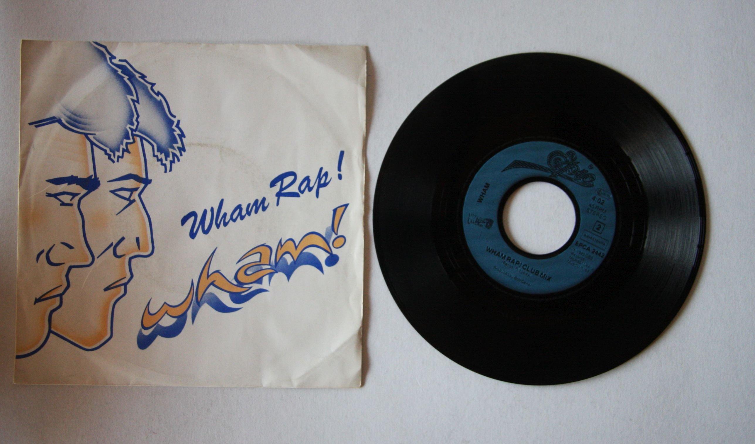 Wham Wham Rap Enjoy What You Do Special US Re Mix