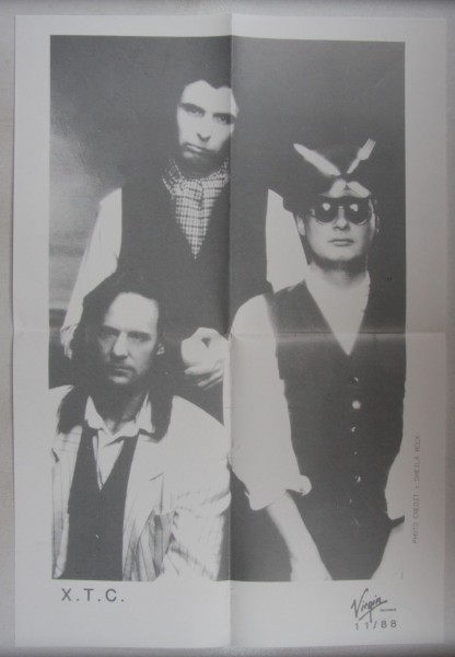 XTC - Repro Poster 1988