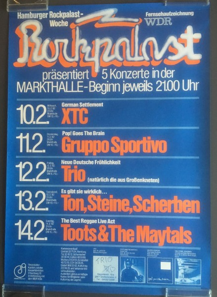 Various Artists - Hamburger Rockpalast Woche 1982